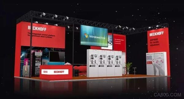 倍福,风能大会暨展览会,优化风力,发电机,集成式控制平台