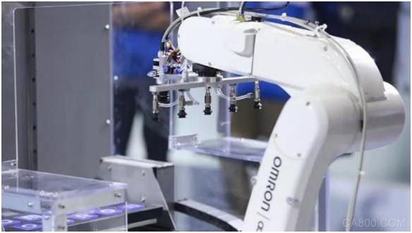 欧姆龙,机器人,进博会