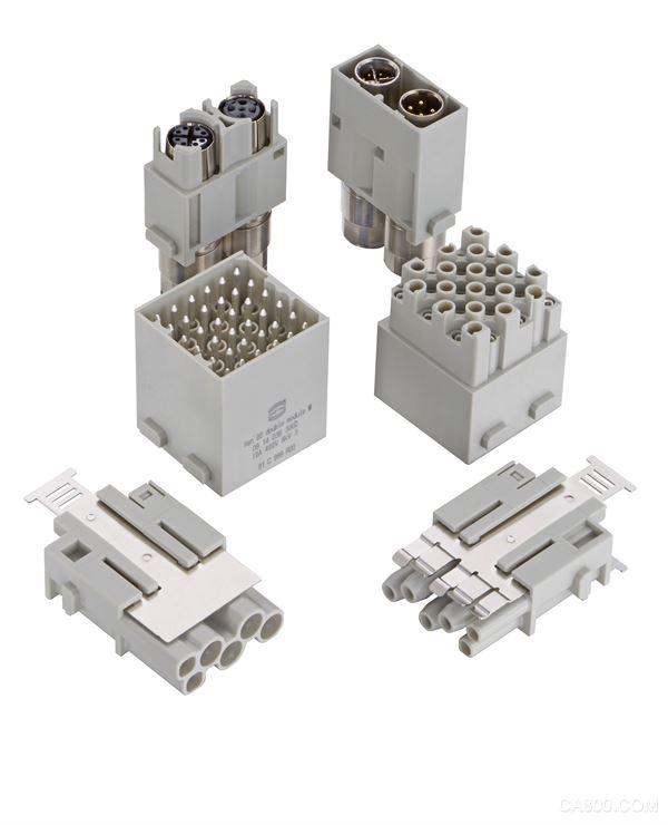 屏蔽电源模块,机械工程,运输应用,双模块,节省空间型接口的模块
