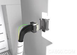 工业连接器, Han® DDD,单模块设计,传输