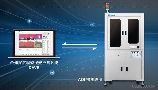 台达,AI视觉检测,DAVS,人工智能,运送系统