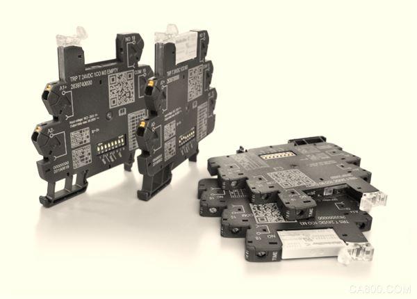 魏德米勒,超薄时间继电器,时间控制功能,直插联接,螺钉联接