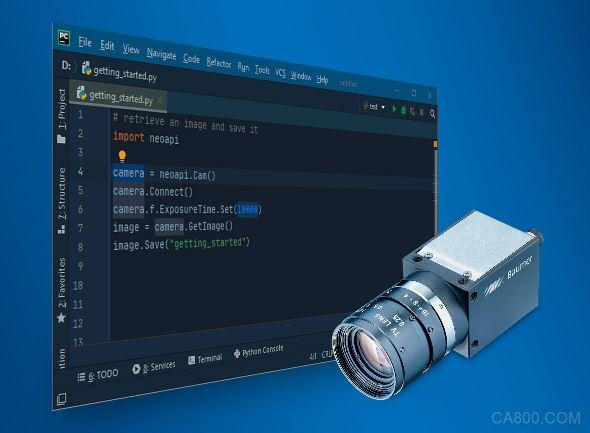 借助堡盟neoAP和Camera Explorer(相機瀏覽器)快速實現簡單、高效的相機集成