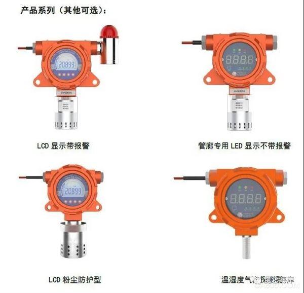 昆仑海岸,管廊固定式气体检测仪,探测器