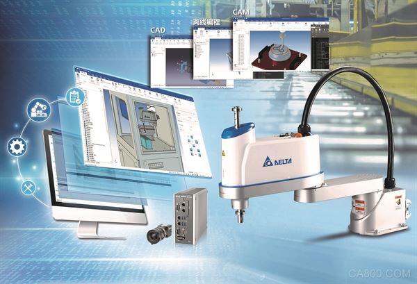 台达-中达电通机电事业部,机器人产品