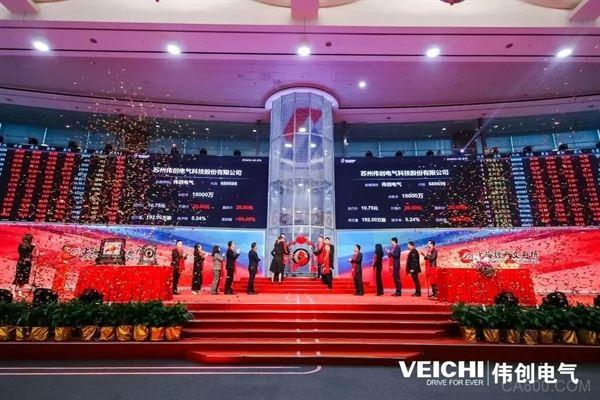 伟创电气,上海证券交易