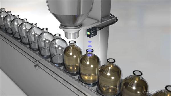 堡盟,超声波传感器,全程非接触式监测,食品饮料
