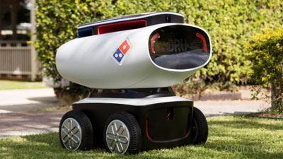 外卖机器人 用密码取餐