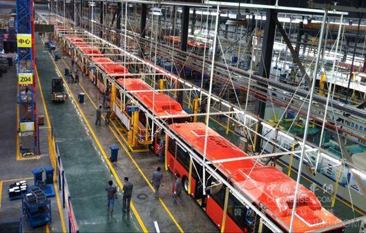 智能制造示范项目之新能源客车智能化工厂