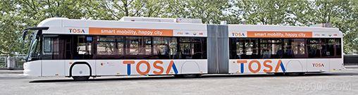 ABB向日内瓦电动公交提供15秒充电技术