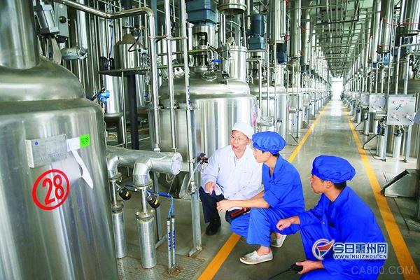 受益傳統產業技術改造 惠州上半年民營經濟增長11%