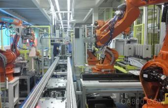 智能化生产线投产后自动化覆盖率由4%提高到70%