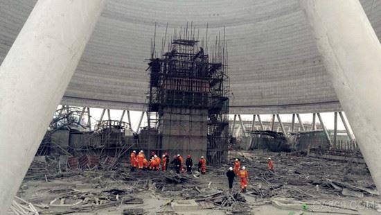 江西电厂坍塌事故突显工业安全在建筑行业严重失位?
