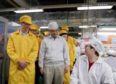 蘋果或聯手富士康在美國建自動化顯示器工廠