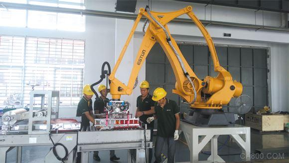 荆门将推广300套工业机器人 2020年将成百亿产业