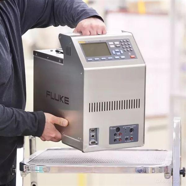 福禄克计量校准正式推出新款便携式校准恒温槽—6109A/7109A