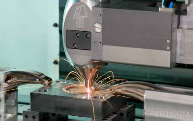 倍福的混合式加工工藝確保最大化金屬加工生產效率