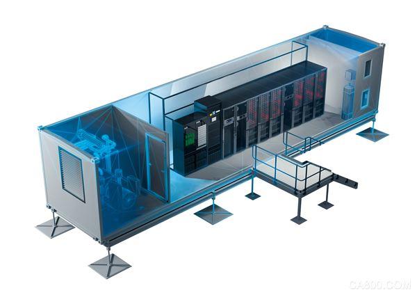 快速部署的最佳选择,MDC云动系列集装箱数据中心解决方案