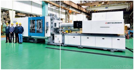 注塑机制造商三菱利用开放式控制架构