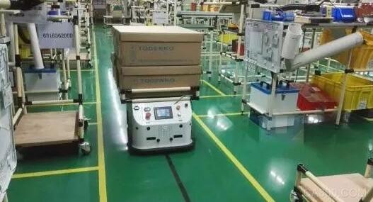 快递物流遇上好年华,工控机助力AGV提升行业效率
