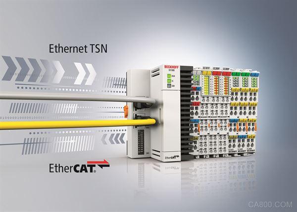 德国倍福:轻松连接 EtherCAT 与 TSN 网络