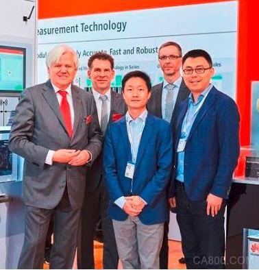 华为与倍福演示了一项采用5G核心技术的无线可编程序逻辑控制器
