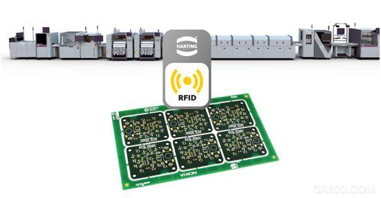 smt生产线利用rfid检测印刷电路板(pcb)