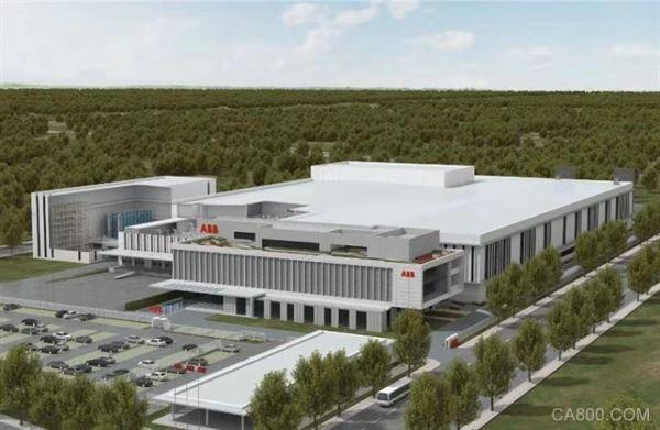 ABB机器人上海新工厂正式动工建设
