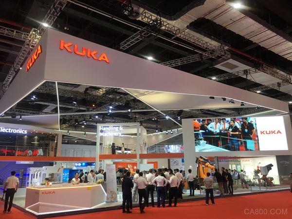 KUKA實力登陸工博會,引領工業智能化