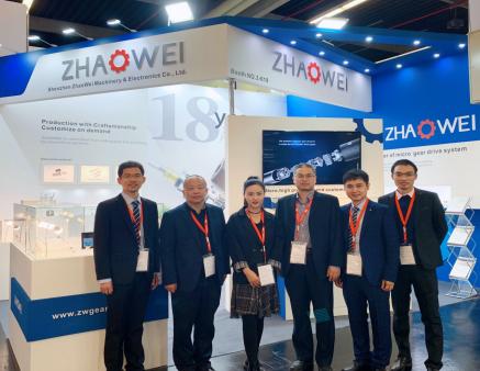 兆威亮相SPS IPC Drives 2019 彰顯中國技術力