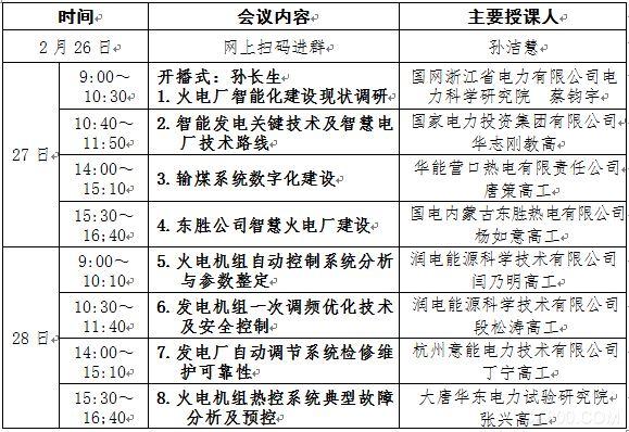 热控技术免费网络直播课程(第一期)