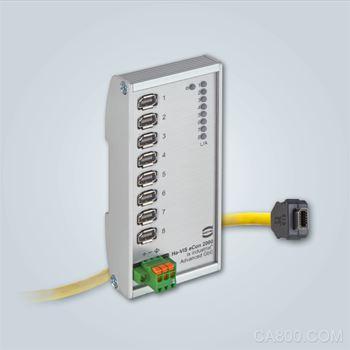 采用高可靠性ix Industrial®接口的高性能交换机