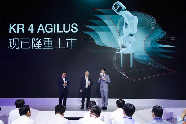 首款库卡中国自主研发、面向全球销售的KR 4 AGILUS机器人开启首发