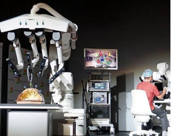 进军医疗领域 川崎重工公开首款手术机器人