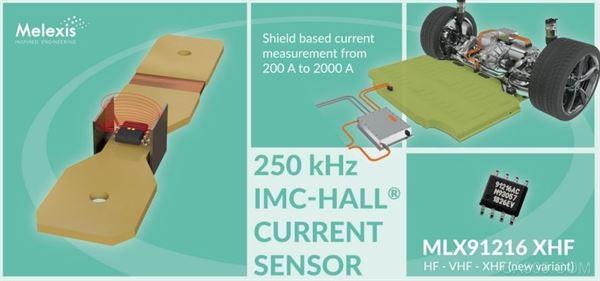 Melexis 推出新款测量范围超 2000A 的IMC-Hall 电流传感器芯片
