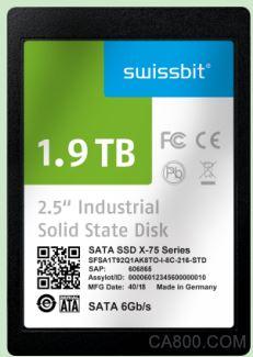 适用于要求严苛的工业和网络通讯应用的SATA-6-Gb/s-SSD