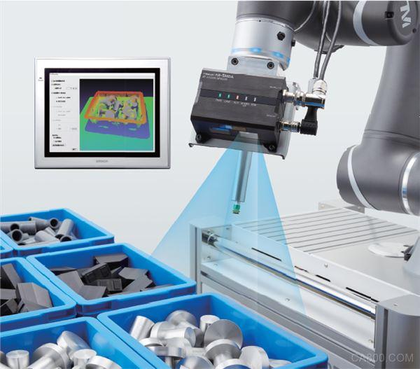 已获得专利!揭秘欧姆龙【3D机器人视觉系统FH-SMD系列】0.4*1秒高速检测