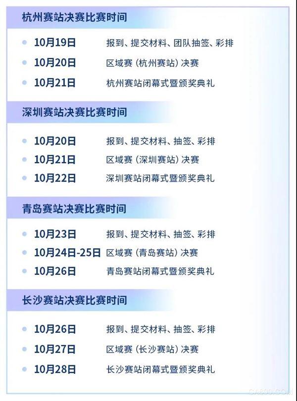 第三届中国工业互联网大赛区域赛日程公布