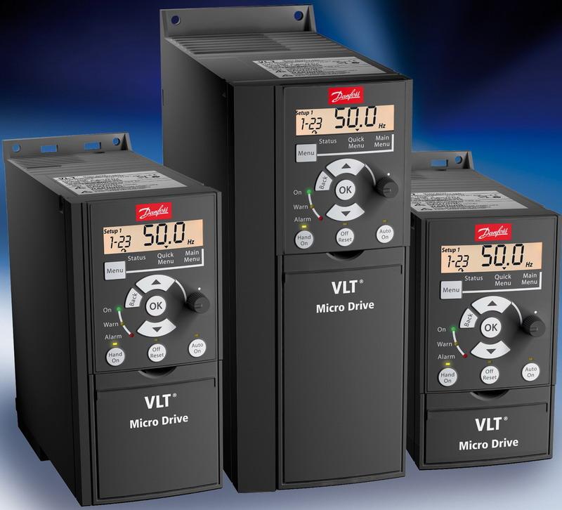 丹佛斯FC51微型系列变频器