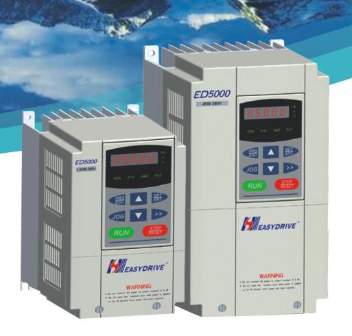 易驅ED5000系列電流矢量型變頻器