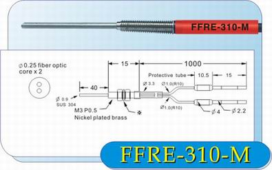 FFRE-310-M光纤管 嘉准电子科技有限公司