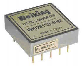Weiking航空电源航天电源通信电源机载军用气密型高可靠DC-DC电源模块WKI2805S-5HM