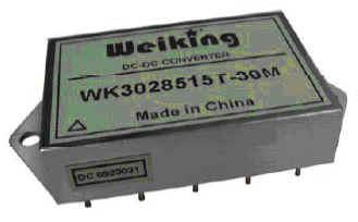 Weiking三路输出航空电源航天电源通信电源机载电源军用电源高可靠DC-DC电源模块WK3028512T-30