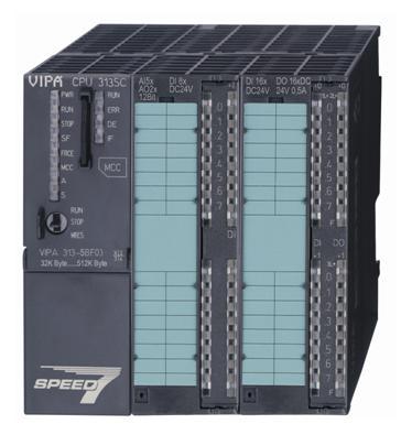 基于SPEED7技術的高速中小型PLC