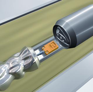TURCK可区分不同金属材质的模拟量传感器
