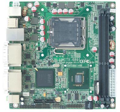 华北工控强势推出Mini-ITX嵌入式主板MITX-6891