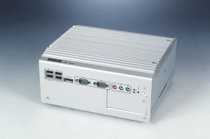 研华新推经济高效型嵌入式工控机ARK-3400