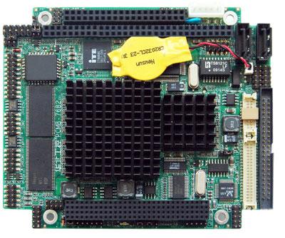 华北工控新推低功耗PC/104工业主板PCMB-7682