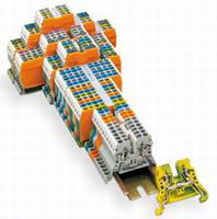 紧凑型轨装接线端子和端子排