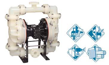 美国SANDPIPER隔膜泵/非金属型隔膜泵